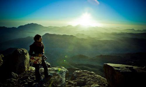 Zdjecie EGIPT / SYNAJ / góry Synaj / I całe moje życie w górach