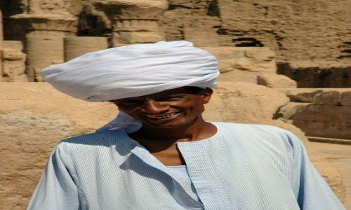 Zdjecie EGIPT / brak / Edfu / turban