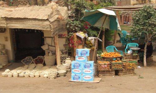Zdjecie EGIPT / okolice Kairu / wioska / Pure Life
