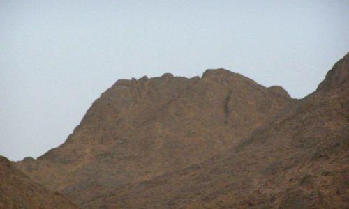 Zdjecie EGIPT / brak / pustynia / góra gibon