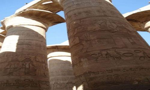 Zdjecie EGIPT / Karnak / Karnak / Świątynia w Kar
