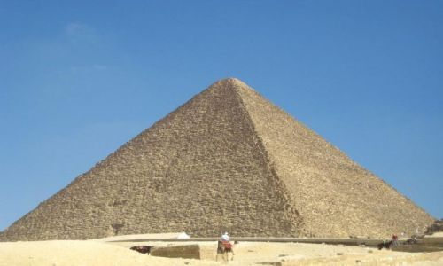 Zdjecie EGIPT / brak / Giza / Piramida Cheopsa