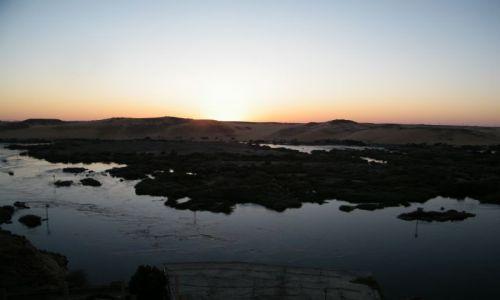 Zdjecie EGIPT / Asuan / Hotel Sara  / Zachód Słońca nad Nilem