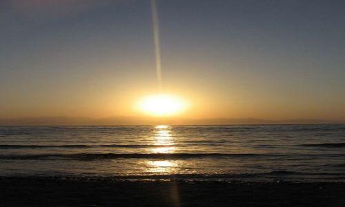 Zdjecie EGIPT / Okolice Dahabu / Hotel Sea Sun / Morze Czerwone - wschód słońca