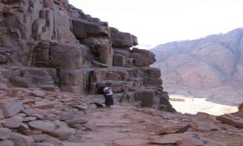 Zdjecie EGIPT / Synaj / Góra Mojżesza / Gora Synaj - zejście