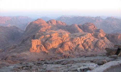 Zdjecie EGIPT / Synaj / Góra Mojżesza / Góra Synaj - ws