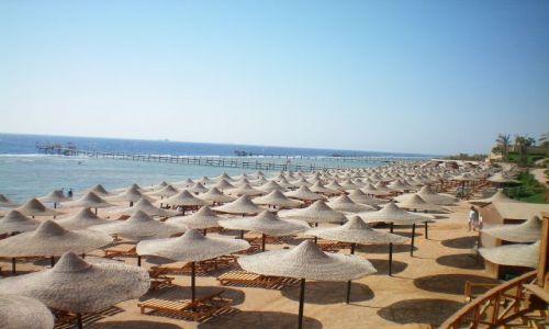Zdjecie EGIPT / Sharm El Sheikh, / hotel / plaża....