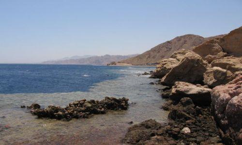 Zdjecie EGIPT / Synaj / Dahab / Blue Hole -mekka, zarazem cmentarzysko nurków