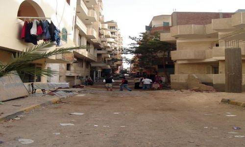 Zdjecie EGIPT / brak / Hurghada / Zaułek miasta
