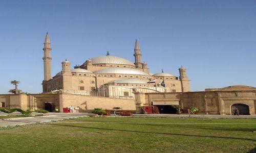 Zdjecie EGIPT / brak / Kair / Meczet Alabastrowy
