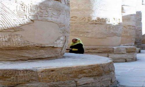 Zdjecie EGIPT / luxor / świątynia Amona w Karnaku / zwiedzanie