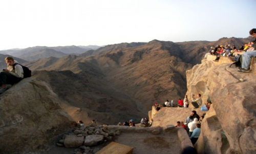 Zdjecie EGIPT / Afryka / Synaj / Góra Mojżesza