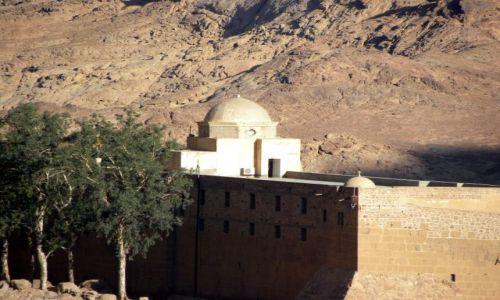 Zdjecie EGIPT / Afryka / Synaj / Klasztor św. Katarzyny