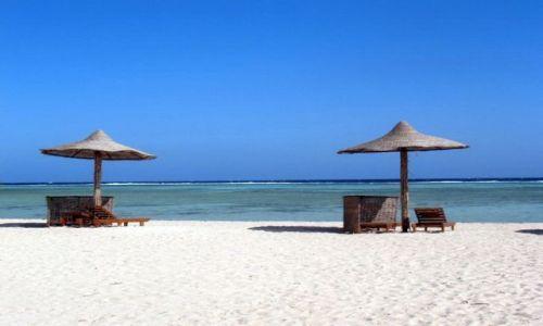EGIPT / Marsa Alam / Marsa Alam / Pusta plaża
