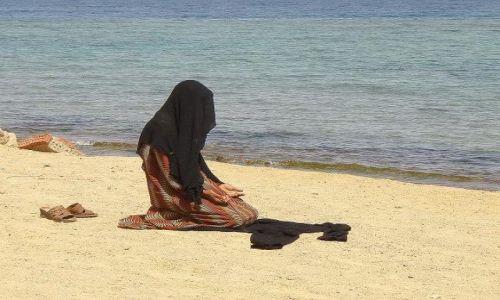 Zdjęcie EGIPT / synaj / taba / modlitwa