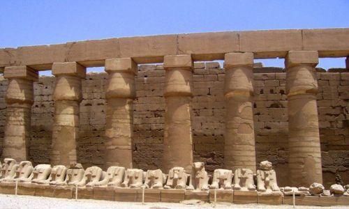 Zdjecie EGIPT / Karnak / światynia w Karnaku / Karnak