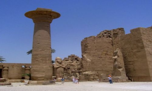Zdjęcie EGIPT / Karnak / światynia / światynia w Karnaku
