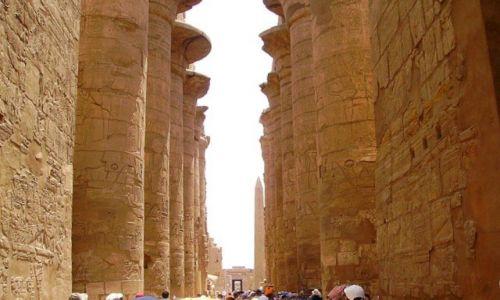 Zdjecie EGIPT / Karnak / Karnak / świątynie w Karnaku