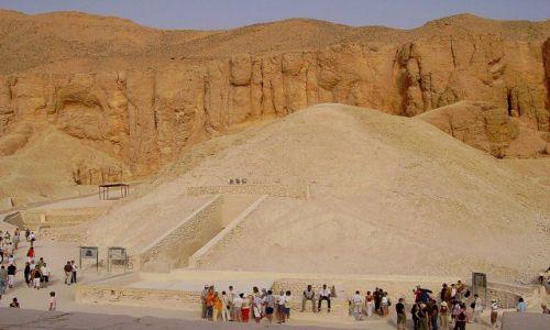 Zdjęcie EGIPT / Dolina Królów / grobowce w Dolinie Królów / w Dolinie Królów