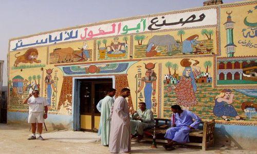 Zdjecie EGIPT / w okolicy Luksoru / w okolicy Luksoru / dwa style w modzie męskiej