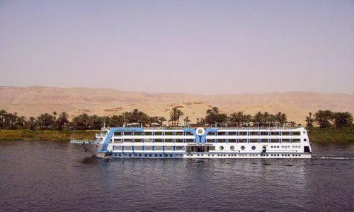 Zdjecie EGIPT / w drodze do Abu Simbel / na Nilu / rejs po Nilu