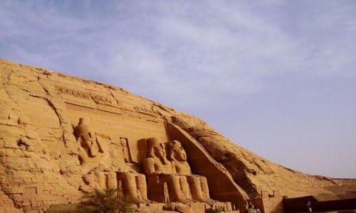 Zdjecie EGIPT / Abu Smbel / Światynia / Światynia w Abu Simbel