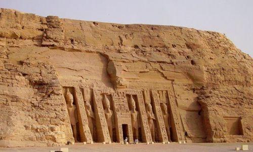 Zdjecie EGIPT / Abu Simbel / świątynia / Abu Simbel