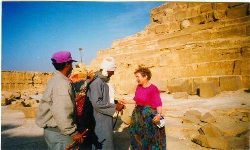 Zdjecie EGIPT / GIZA / piramidy / Znowu ten bakszysz