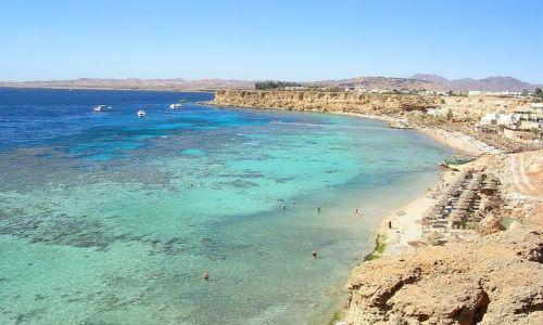 Zdjecie EGIPT / Półwysep Synaj / Szarm el-Szejk / plaża-   rafy-   morze-   może  ...