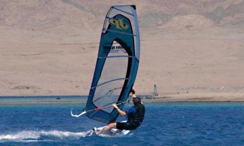 Zdjecie EGIPT / - / Dahab / Windsurfing w z