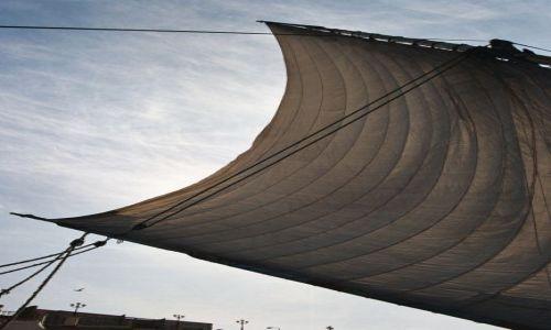 Zdjęcie EGIPT / Luksor / Nil / Wiatr w żaglu
