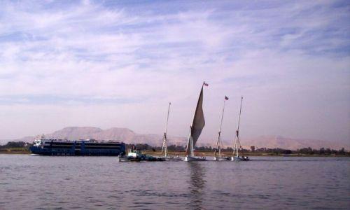 Zdjęcie EGIPT / Luksor / Nil / Flauta