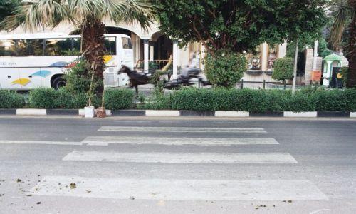 Zdjecie EGIPT / Luksor / El Madina / Bieg z przeszkodami