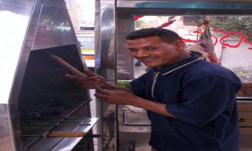 Zdjecie EGIPT / Hurgada / Targ / Szisz kebab
