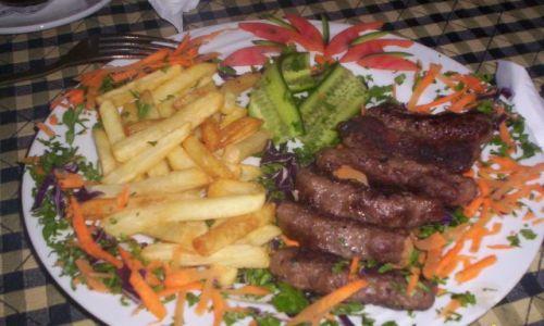 Zdjecie EGIPT / Hurgada / Restauracja El Dhara / Kebab i reszta