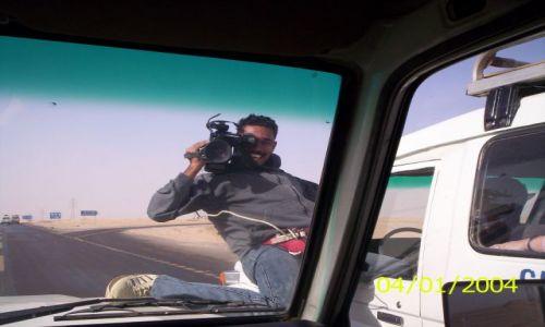 Zdjecie EGIPT / Pustynia Wschodnia / Droga  na safari / W drodze