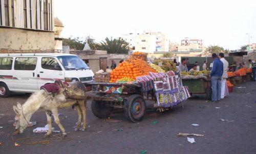 Zdjecie EGIPT / Hurgada / Restauracja El Dhara / Targ w Hurgadzie