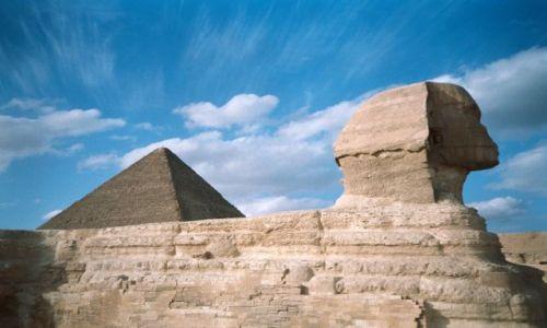 Zdjecie EGIPT / Kair / Giza / Niebo III