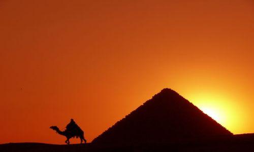 Zdjęcie EGIPT / Giza / Giza / Piramidy