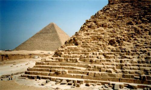Zdjecie EGIPT / Giza / Giza / Piramidy