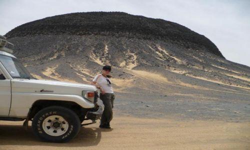Zdjecie EGIPT / Black Desert / ... / Volcanic Mountains
