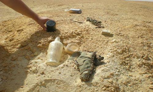Zdjecie EGIPT / Pustynia El Alamain / -- / Ślady II wojny światowej 2