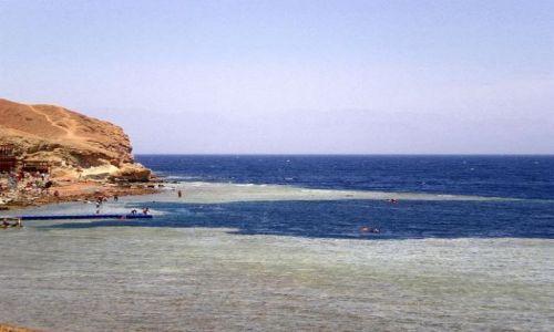 EGIPT / -Synaj / Dahab teren rezerwatu Ras Abu Dżallum / Blue Hole