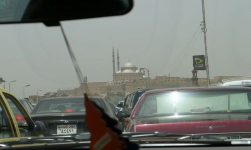 Zdjecie EGIPT / - / Kair / W kairskim korku