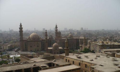 Zdjecie EGIPT / - / Kair / Panorama Kairu - widok z Cytadeli