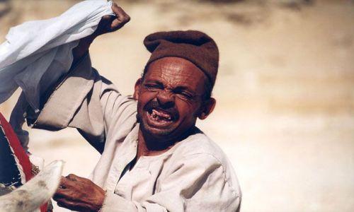 Zdjecie EGIPT / brak / Sakkara / smile...