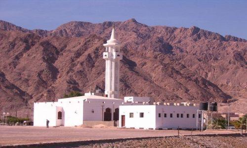 EGIPT / Półwysep Synaj /  Nuwejba / Meczet w Nuwejbie