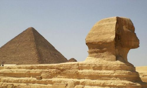 Zdjecie EGIPT / - / Kair/giza / Garb?