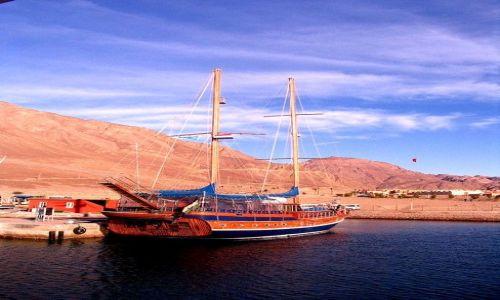 Zdjecie EGIPT / Zatoka Akaba / Taba / kolory
