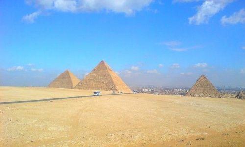 Zdjecie EGIPT / Afryka / Egipt - Giza / widok znany